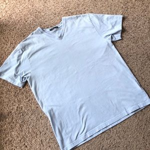 Banana Republic baby blue vneck, XL